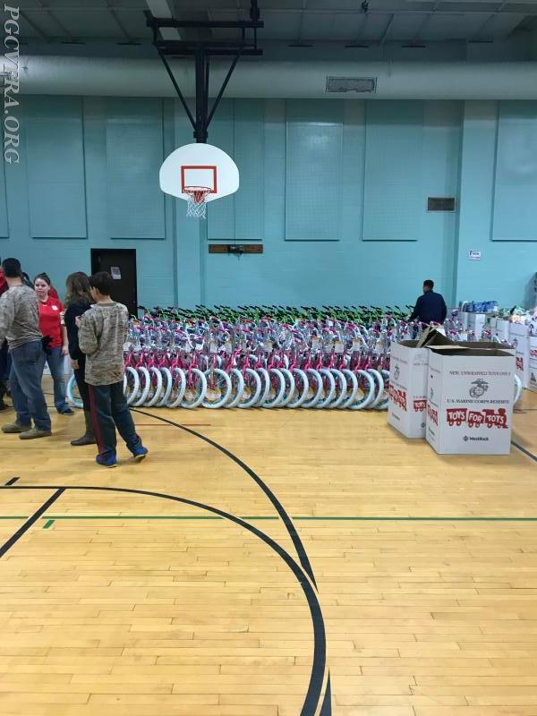 Toys for Tots Bicyles